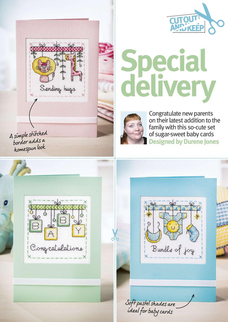 Special Delivery (Durene Jones) From Cross Stitch Crazy N°215 May 2016 1 of 4