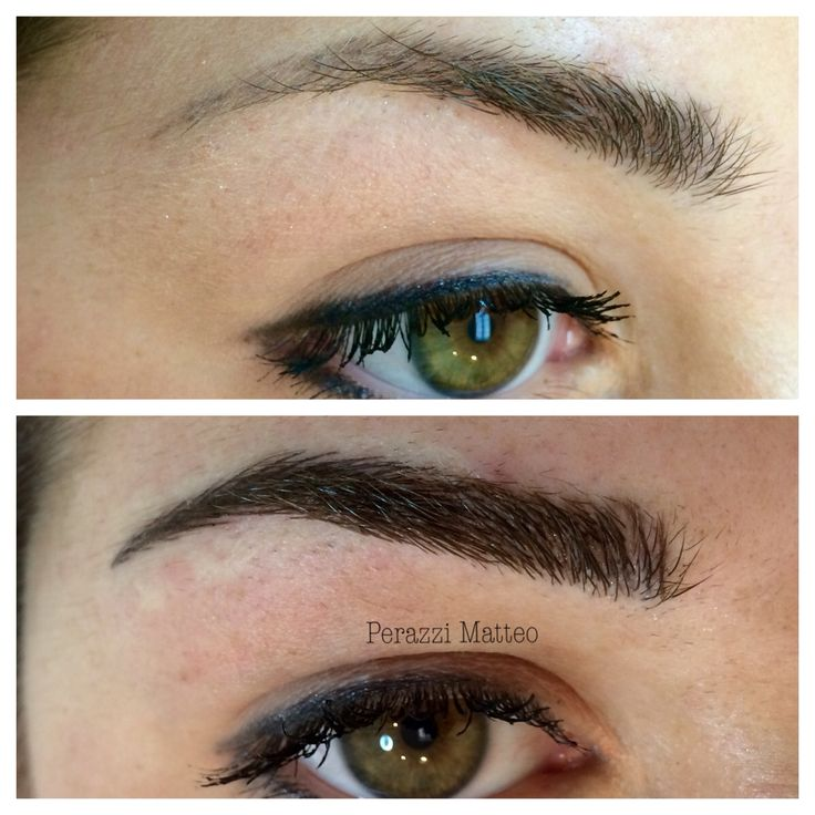 PMU eyebrows