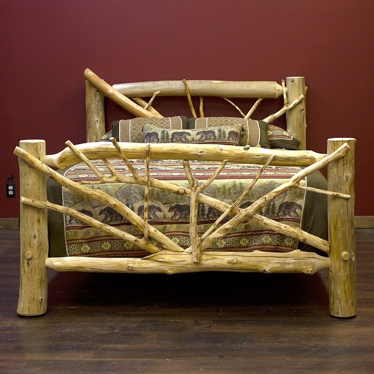 Great Rustic Bedroom Packages, Rustic Bedroom Furniture, Log Beds And Accessories Photo Gallery