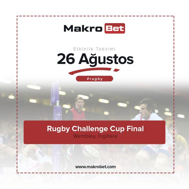 Avrupa Rugby Şampiyonası - European Rugby Challenge Cup  Birleşik Krallık ülkeleri kadar son yıllarda çıkış göstere diğer Avrupa ülkeleri için de büyük önem taşıyan Avrupa #RugbyŞampiyonası - #RugbyChallengeCup finalleri bugün İngiltere'nin Wembley şehrinde başlıyor. Tüm sezon bu finalleri bekleyen ve elemelerden sonra guruplara kalan 16 takım 4'lü guruplar halinde finallere katılabilmek adına zorlu mücadelelere çıkacak. Diğer spor müsabakalarında olduğu gibi #Rugby severler için…