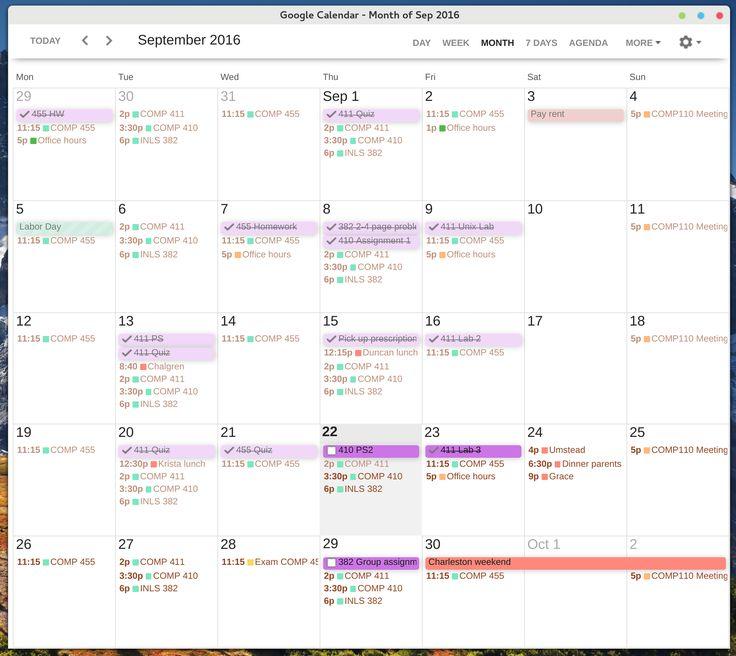 Améliorer le design de Google Agenda avec Clean Google Calendar