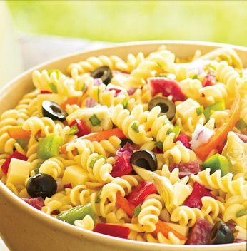 Cold pasta salad recipes easy pasta salad recipes for Cold pasta salad ideas