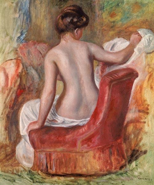 Pierre-Auguste Renoir - Nude in an Armchair