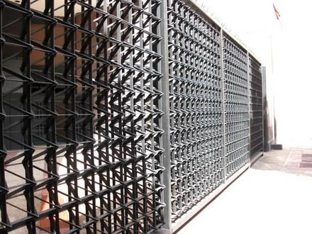 9 best puertas metalicas para dago images on pinterest - Cerraduras para puertas metalicas ...