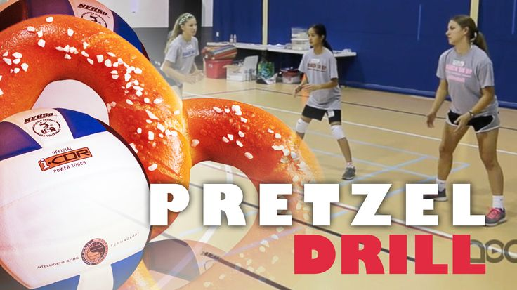 Practice passing and movement with this fun Pretzel drill!