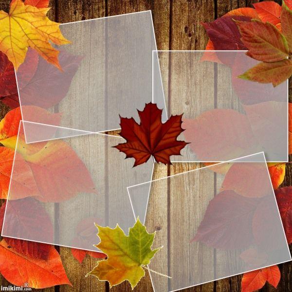 Fall/Autumn collage.
