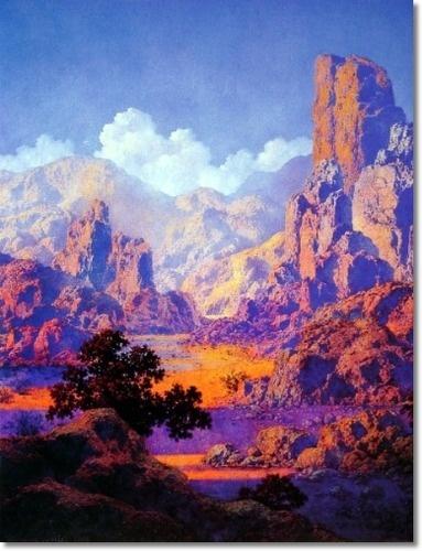 Maxfield Parrish American Illustration - Arizona