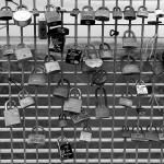 Bridge between Continents ... with Love Locks!