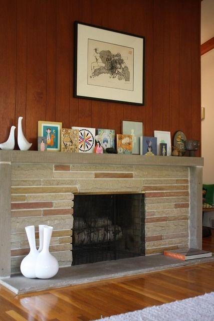 11 Best Mid Century Modern Fireplace Images On Pinterest