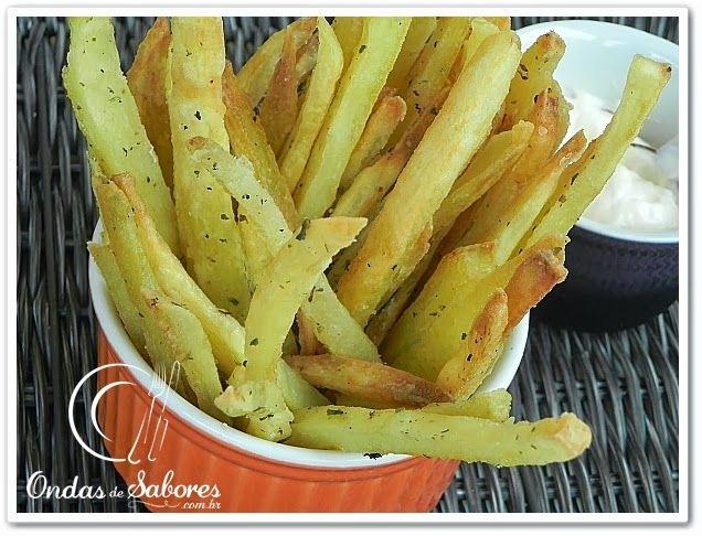Ondas de Sabores: Batata Frita de Forno... Sequinha e Crocante
