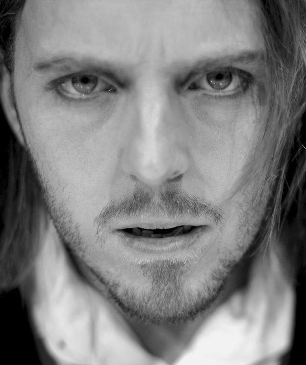 Tim Minchin looking entirely too serious