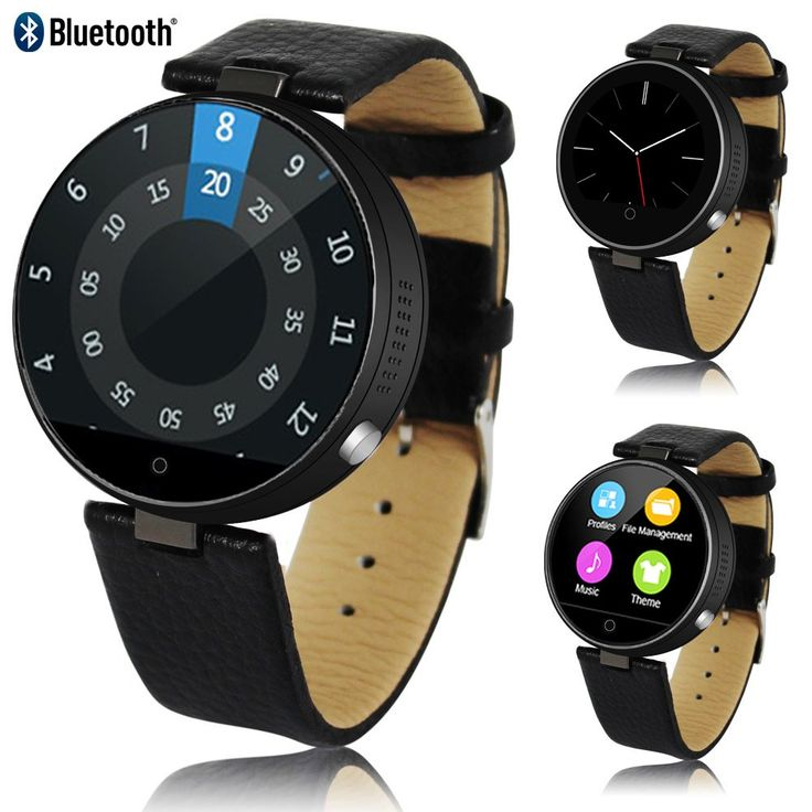 Indigi Bluetooth 4.0 SmartWatch - iOS & Android Compatible - Heart Rate + Pedometer + Notifications + SiRi Voice Control for iOS. Universal Compatibility - iOS or Android! The M365 SmartWatch is Capable of syncing with either platforms! Can even use Siri directly from your watch!. Ringtone & Vibration - M365 rings and vibrates, showing incoming phone numbers. Answer directly from your wrist - no more missed calls. Heart Rate Monitor & Pedometer - Kick Start your health by keeping track of...