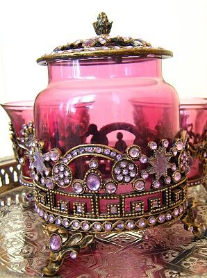 bejeweled jar