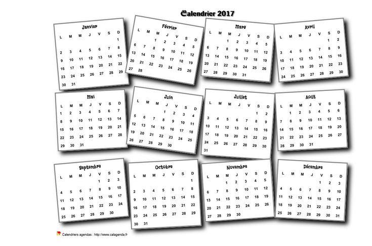 Calendrier 2017 annuel 3D pêle mêle                                                                                                                                                                                 Plus