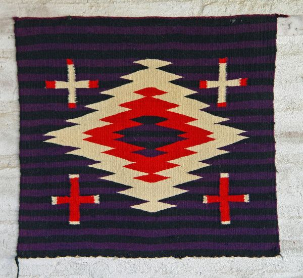 Navajo Germantown Moki Circa 1890  Click to see this and other great pieces for sale at navajorug.com