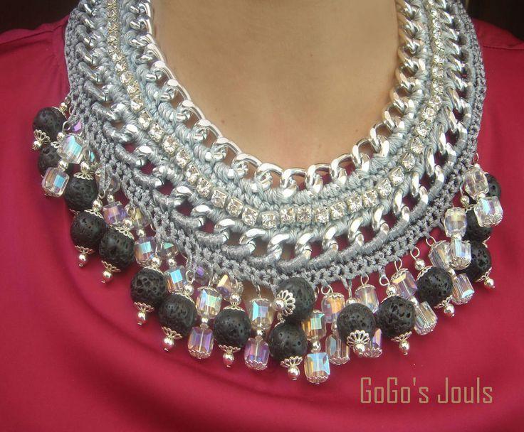 statement necklace...handmade