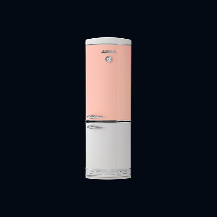 Réfrigérateur congélateur à usage résidentiel / à double porte / avec congélateur en bas - 1952 - Tecno SpA