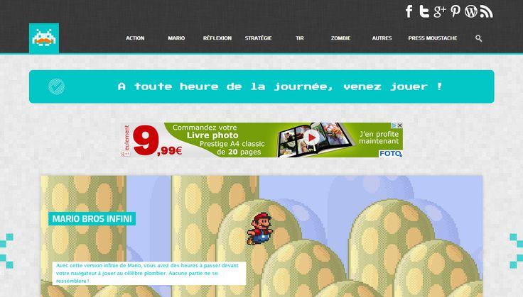 Vous voulez découvrir un site de qualité qui propose du vrai contenu ? Voilà Press Moustache, la nouvelle référence du jeu Flash en ligne.