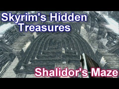 Skyrim's Hidden Treasures - Shalidor's Maze - YouTube