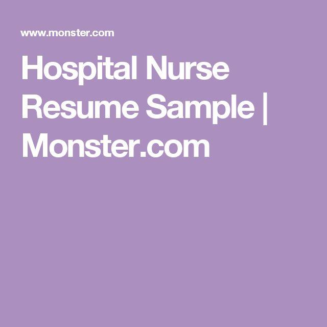 7 best letters images on Pinterest Thoughts, Cover letter - burn nurse sample resume
