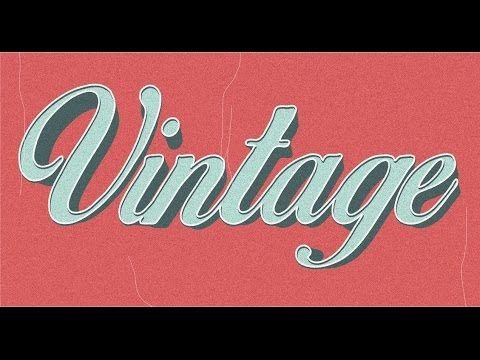 tutorial Vintage + Pantone