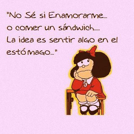 Mafalda enamorada