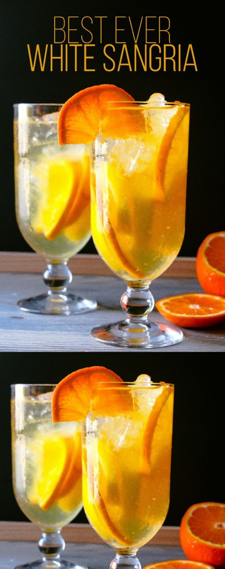Best White Sangria Recipe Ever - Layers of Happiness