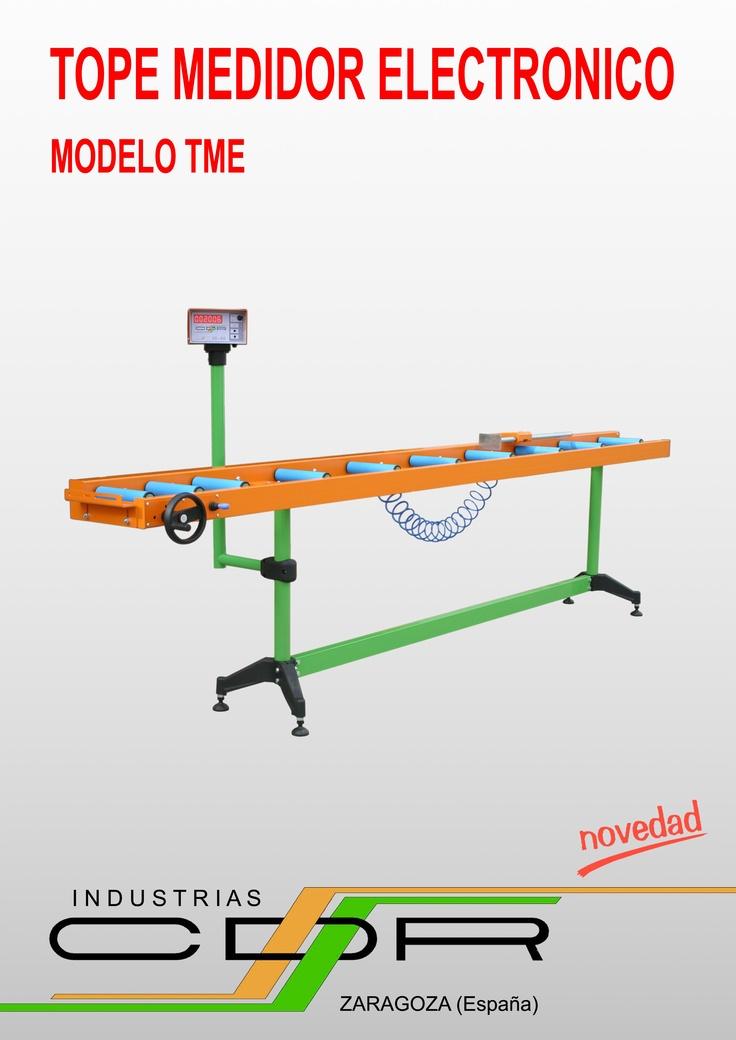 Tope Medidor Electronico Modelos TME-2500/N, TME-3000/N y TME-4000/N