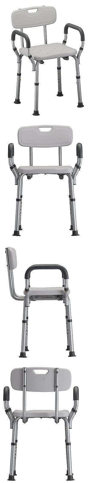 Shower and Bath Seats: Nova Medical Products Deluxe Bath Seat With Back And Arms -> BUY IT NOW ONLY: $58.43 on eBay!