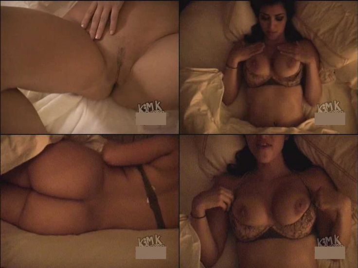 Kim Cardashion Naked 8