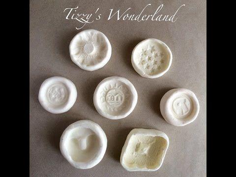 Tizzy's Wonderland: Tutorial - Stampi in Silicone Fatti in Casa (Tutorial - Homemade Silicone Molds)