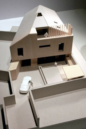 Cameron Webster - A Model of our new house before building started!