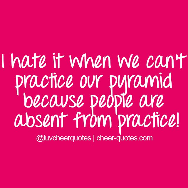 Practice Quotes: 78+ Images About Cheer Quotes On Pinterest