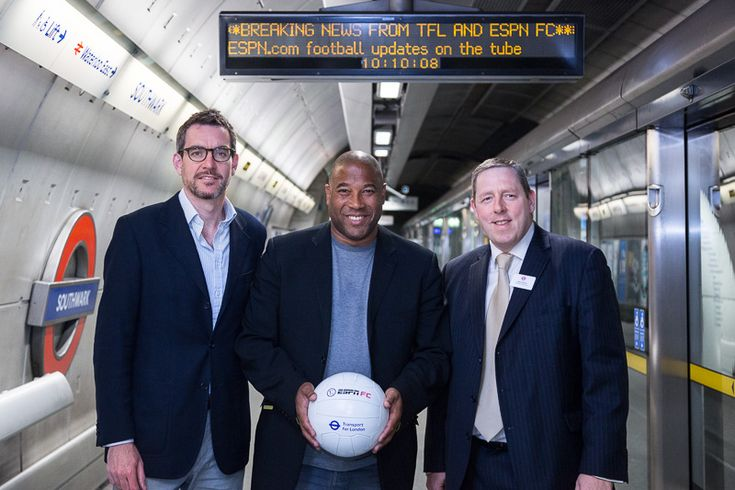 World Cup updates coming to London Underground platform service boards
