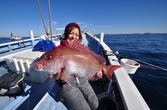 東海汽船㈱主催「島ガール®・釣ったどー! 式根島で大物大漁釣りツアー ...