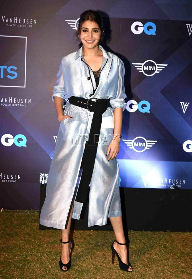 Anushka Sharma at a GQ magazine event.