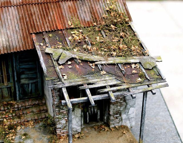 getrokken uit het leven - gebouwd door Marcel Ackle: 4.77 Tutorial - huis met kip huis