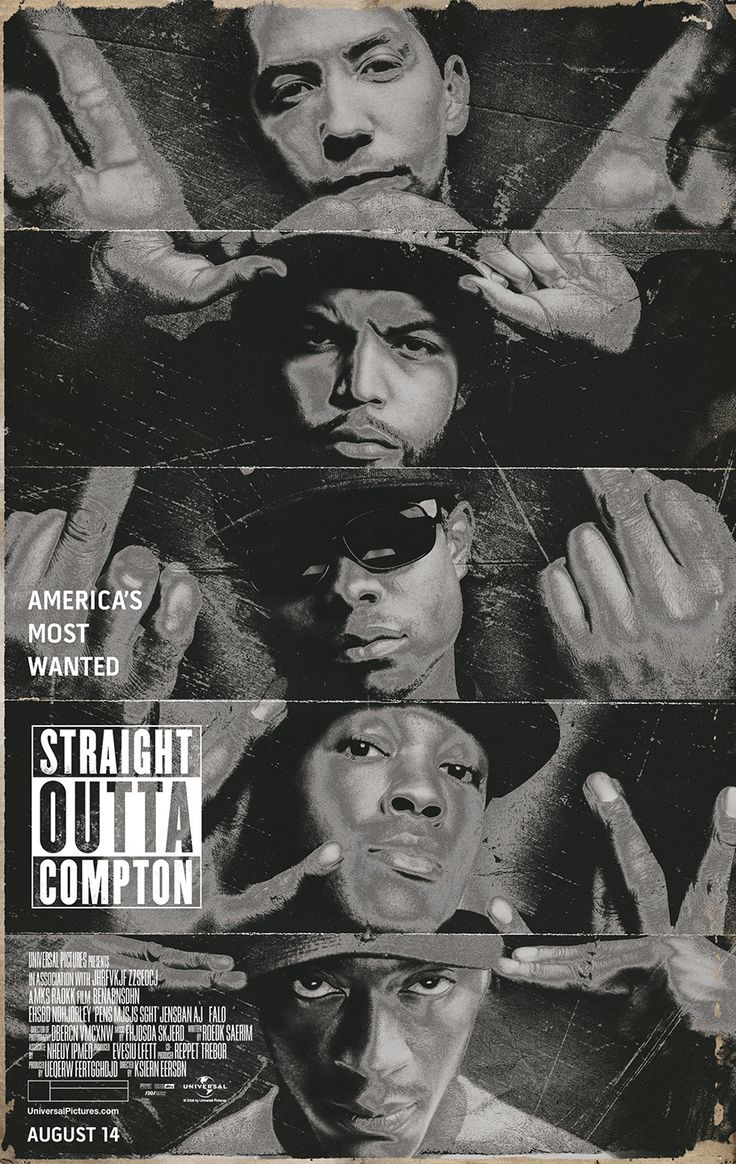 "Straight Outta Compton...if you are a hip hop head from my generation (class of 84""), this biopic is required watching! It was so dope, & will take you back!"