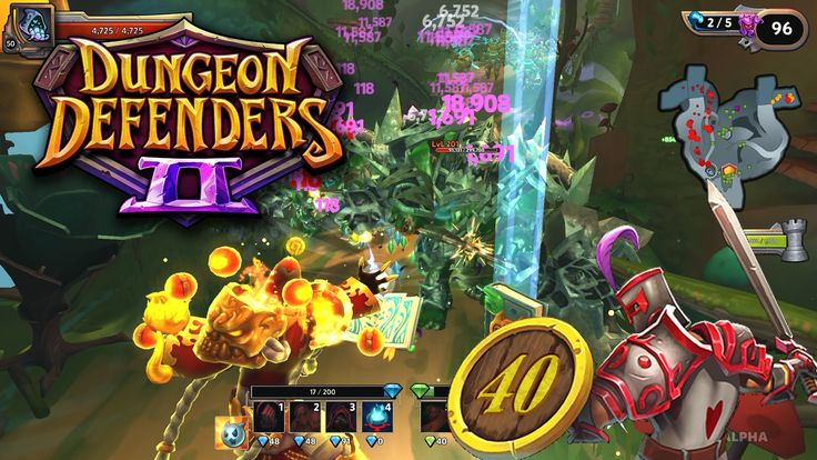 Hey Everyone  Dungeon Defenders was one of my favourite Tower Defense games I was really excited to hear that Dungeon Defenders 2 was released!  The goal of Dungeon Defenders 2 is to protect the objective from waves of enemies.  Not only can you build towers traps and walls you can also get dirty by taking the invaders out yourself.   Thanks for watching! :D  You guys know what to do if you like the video!   //////////////////////////////////////////////////////////////////////  If you liked…