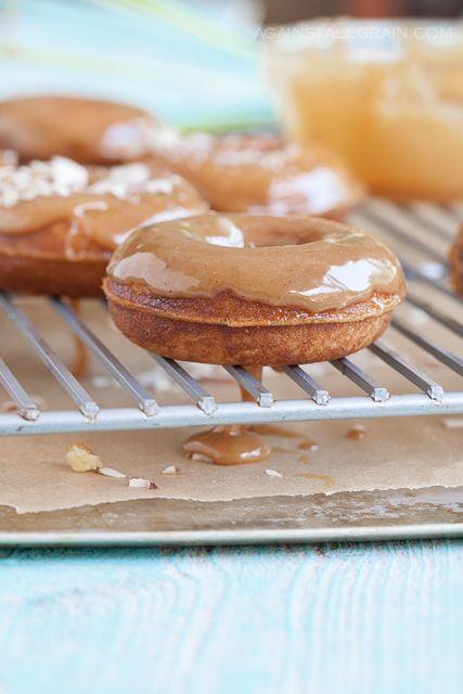 Caramel Glazed Doughnuts (nut-free) - Danielle Walker's Against All Grain