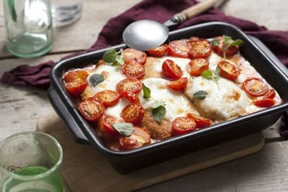 Concoctez un authentique poulet parmigiana