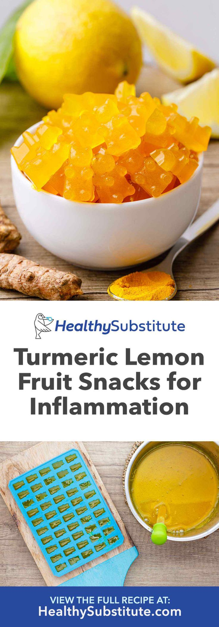 Anti-Inflammatory Turmeric Lemon Fruit Snacks – Healthy Substitute