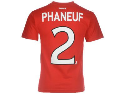 Ottawa Senators Dion Phaneuf Reebok NHL CN Player T-Shirt