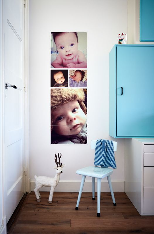 Create your own collage using the cutest instagram pictures of your little one!