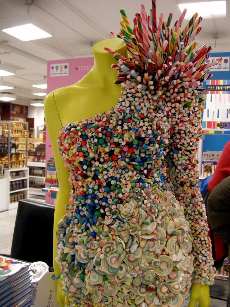 """""""Candy Dress"""".....Dressed For Dinner! Clothes You Can Eat!"""