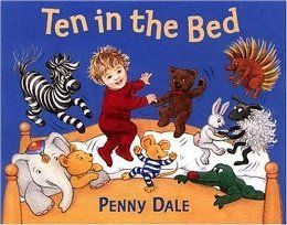 Ten in the Bed: Penny Dale: great book for a number talk. Have the students keep track on their fingers or on a 10s frame how many animals are left in the bed