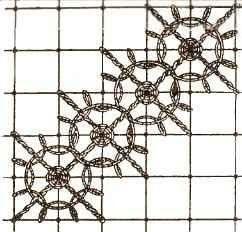 Схемы плетения. Паутинка.