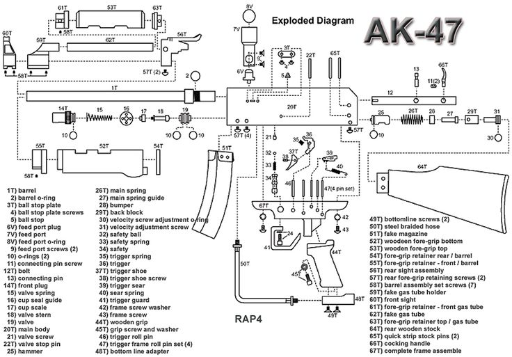 exploded gun diagrams