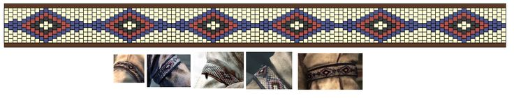 Assassin's Creed 3. Connor's armband pattern by livengood.deviantart.com on @deviantART