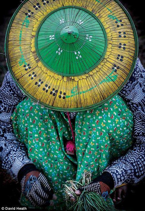 An onion farmer on the Chindwin River...